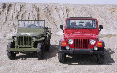 Jeep modelli militare e CJ