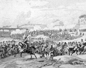 Immagine che ritrae la  Battaglia di Bassano del 1796
