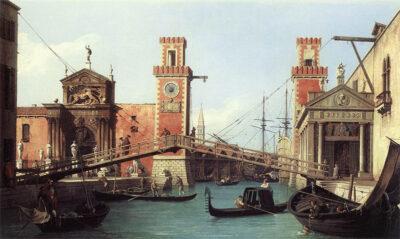Canaletto ponte dell-Arsenale-di-Venezia