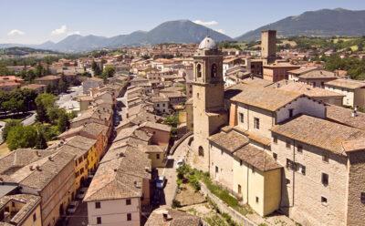 Il Borgo dall'alto