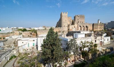 Grottaglie vista panoramica su Castello Episcopio