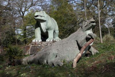 I-dinosauri-del-Crystal-Palace