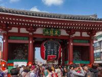 Ingresso al Sensoji Temple dalla porta Kaminarimon (©)TCVB