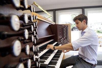 Johannes Berger l'organista