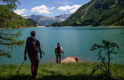 Lago di Pian Palù nell ultima tappa trentina prima della Lombardia