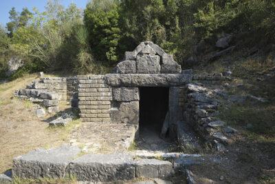 Roccagloriosa tomba a camera n. 24