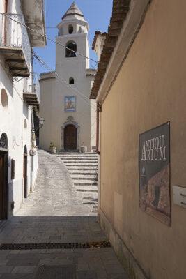 Roccagloriosa chiesa di San Giovanni Battista presso l'Antiquarium
