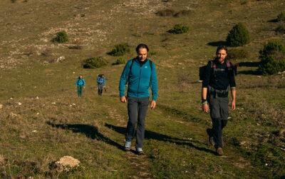 Sentiero Italia Ultima tappa 2019 verso Visso con Neri Marcorè. Marche credits Sara Furlanetto