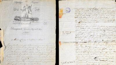 Il 5 maggio lettera-di-Napoleone-a-Canova