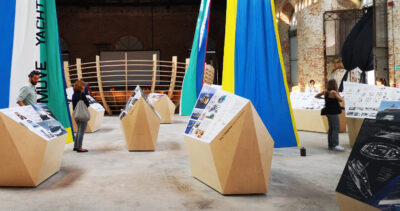 """Arsenale mostra """"Muve Yacht Projects"""""""