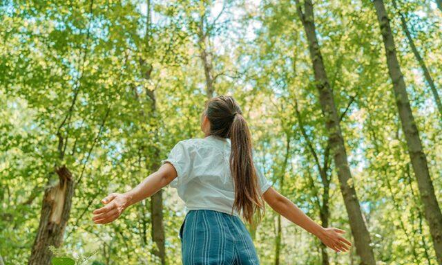 Paura di viaggiare All'aperto, un concetto di benessere.