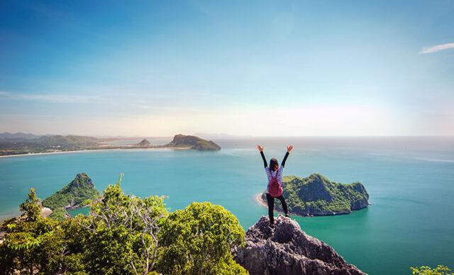 Pauta di viaggiareGodere della bellezza del paesaggio