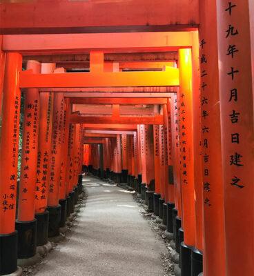 portali-al-santuario-Fushimi-Inari-Taisha a Kyoto (ph. b. andreani © mondointasca.it)