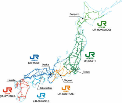 Giappone-Cartina-linee-ferroviarie