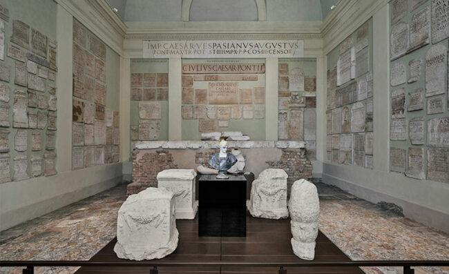 Francesco Vezzoli, Achille!, 2021, foto © Alessandra Chemollo, Fondazione Brescia Musei.