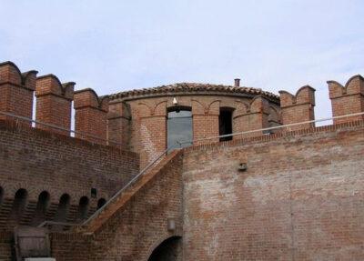 Rocche sforsesche Rocca-di-Riolo-Terme-particolare
