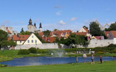 crociere Visby-isola-di-Gotland,-Svezia