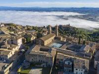 Il complesso conventuale  St. Agostino visto dall'alto