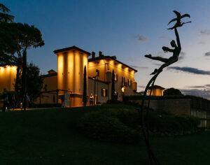Palazzo di Varignana al tramonto