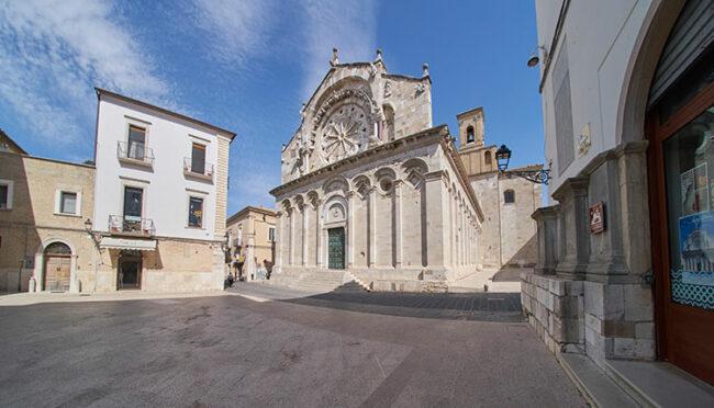 Troia, Basilica Cattedrale di Santa Maria Assunta (ph. © 2021 emilio dati)
