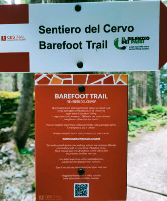 Barefoot Trial segnaletica