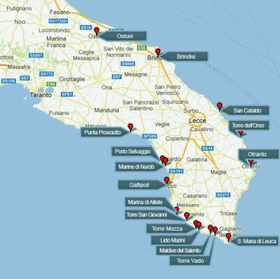 cartina-spiagge-e-luoghi-del-Salento