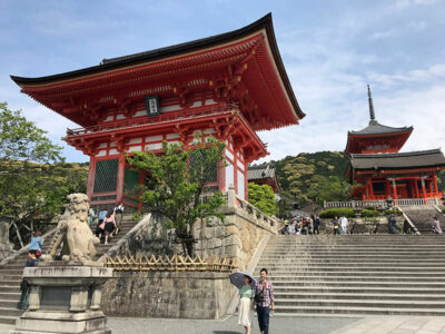 i colori di Kyoto Il-tempio-di-Kiyomizu-dera