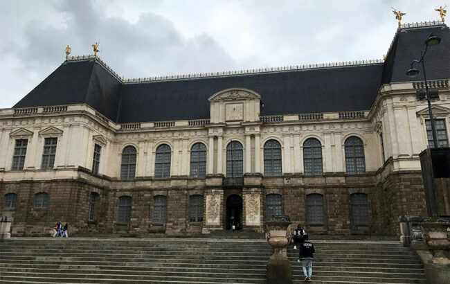 Rennes, Palazzo del Parlamento di Bretagna (Ph. ©Dario Bragaglia)