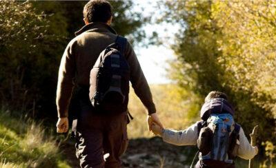 camminatori sulla Via-di-Francesco
