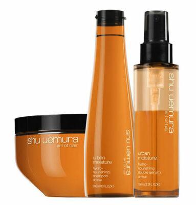 Oreal shu-uemura-kit-urban-moisture-shampoo-masque