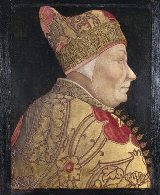 Venetia 1600 Lazzaro-Bastiani-(attribuito)-Ritratto-del-doge-Francesco-Foscari