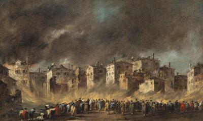Francesco-Guardi-L'incendio-di-San-Marcuola,-1789-