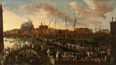 Venetia 1600 nascite e rinascite La-processione del Redentore