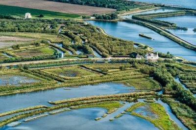 Grande fiume via-delle-valli-nord,-valle-Veniera,-Rosolina-foto-G.-Dissette