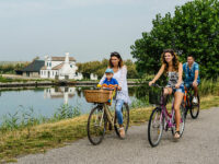 In bici lungo la Via delle Valli