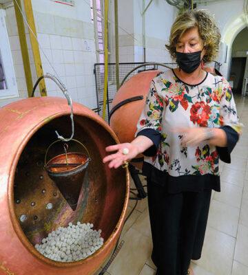 Pistoia Laboratorio confetti Corsini