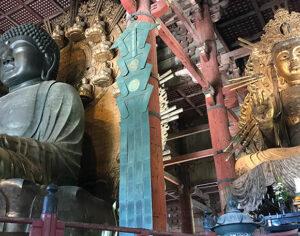Daibutsu-den e Buddha colossale nel Santuario di Tōdai-ji a Nara (ph. b. andreani © mondointasca.it)
