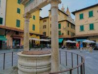 Piazza della Sala, Pozzo del Leoncino, 1453 (2021 © emilio dati - mondointasca)