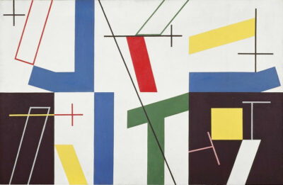Sophie Taeuber-Arp six-spaces-with-four-small-crosses-1932