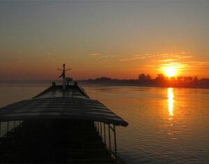 Il sorgere dell'alba a Ayeyarwady (ph. giulia fraschini © – mondointasca.it)