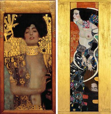 Gustav Klimt Belvedere a Vienna e Giuditta II, Galleria a Ca' Pesaro